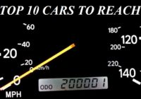 Top 10 Cars to make it past 200,000 miles