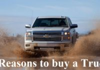 5 Reasons to Buy a Truck