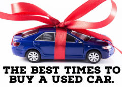 The 3 Best Times To Buy A Used Car