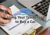 Using Your Tax Refund to Buy a Car