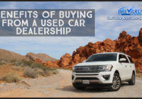 Benefits Of Buying From A Used Car Dealership