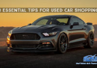 3 Essential Tips For Used Car Shopping